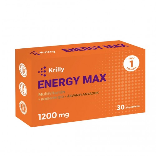 Krilly ENERGY MAX 1200mg