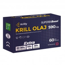 Krilly Superba Boost krill olaj 590mg